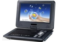 """Wholesale Portable Picture Player - Wholesale- free shipping 9.8"""" Portable EVD DVD Player TV USB SD Games JPG Picture Radio Swivel LCD Screen"""