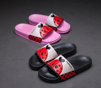 Wholesale Baby Slipper Floor Shoes - Children slippers summer male home indoor bathroom non-slip soft at the end of the big child baby lovely beach shoes female