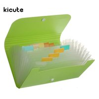 Document File Document Folder Bag Case Bills Receipts Custodia Porta carte Organizer 17.7x11.8x2.3cm Forniture scolastiche Blu Verde Rosa Giallo