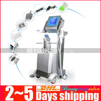 Wholesale E Light Yag - 3In1 IPL E-light Fast Hair Removal Q Switch Yag Laser Tattoo Removal RF Tender Skin Care Facial Lifting Beauty Equipment