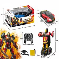 Wholesale China Rc Toys - Newest Product Deformation Robot Toys Rc Car Made In China Radio Control Toy Car Transform Robot Toy