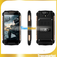 Wholesale best touch screen cell phones for sale - Group buy 5 A8 GB rom best design cell phones MTK6580 Quad Core show g lte outdoor Dual camera android Smartphone mAh Battery pc free dh