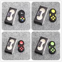 Wholesale Plastic Magic Box - Magic Gamepad Fidget Pad Game Controller Amazing Fidget Cube Colorful Fidget Toys Anti-anxiety Decompression Toys with Box