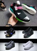 Wholesale Eva Ninja - Y-3 QASA RACER Hight SnEakers Couples Original Y3 Bandage Running Shoes For Men&Women Fashion Outdoor Ninja Casual Sneakers Jogging Boost