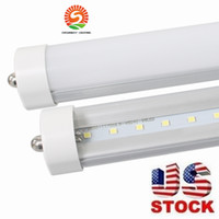 Super Brillante T8 Pas Cher-tubes led 8 pieds 45w 8ft FA8 2400mm T8 Led Tube Lights High Super Bright 45W 4800lm Cool White Led Fluorescent Tube AC110-277V