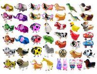 Wholesale Zoo Pets - 2017 Walking Pet Balloon Animal Balloon Pets Birthday Party toys children Foil Toys Zoo Farm Pets