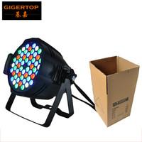 Wholesale Dj Lighting Par Cans - TIPTOP TP-P54A Led Par Light 54x3W RGBW Aluminum Par Cans 4 8 DMX Channels DMX512 Stage Wash Light DJ Equipment 90V-240V CE ROHS