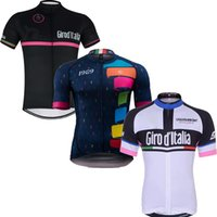Wholesale Women Bicycle Shorts Xl - Tour De Italy D'ITALIA Black Cycling Jersey Bicycle Clothing quick dry Bike Clothes Maillot Ropa Ciclismo Short Sleeve Sportwear spain D2701