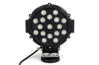 Wholesale external led spot light resale online - 7inch W LED Work Light Tractor Truck v v IP67 SPOT Offroad LED Drive light LED Worklight External Light