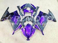 Wholesale Zx Kawasaki Bodywork - New Bodywork Fairing For KAWASAKI NINJA ZX300R 13 14 15 EX 300 ZX-300R ZX 300R EX300 2013 2014 2015 Injection Fairings set glossy purple