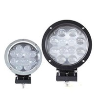 "Wholesale Led Driving Lights 4wd - LED Working Light 7"" 60W CREE LED Work Light Bar 12-LED*(5W) Driving Work Light SUV ATV 4WD 4x4 Flood Spot Beam 5100lm IP67 Truck Lamp"