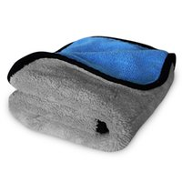Wholesale Car Detailing Microfiber Towels - Wholesale- AutoShine Car Care Wax Polishing Detailing Towels Car Washing Drying Towel Super Thick Plush Microfiber Car Cleaning Cloth