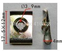 Wholesale Wholesale Nuts Bolts Black - button car metal screw bolts nut clip fastener button fastener straps