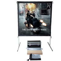 Wholesale Projection Fast Fold Screen - Fast-Fold Deluxe Portable Projection Screen 16:9