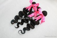 """Wholesale Weaves Retail Price - 10"""" to 30"""" very cheap price black unprocessed hair weft wholesale and retail 3,4,5pcs lot"""