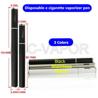 Wholesale Disposable E Cigarettes - 2016 new product disposable e cigarette vaporizer pen bbtank t1 oil vape pen vaporizer co2 extract pen vape with .5ml