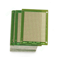 Wholesale Wholesale Printed Circuit Boards - 50mm x 70mm Prototype Strip Copper PCB Printed Circuit Board Stripboard For Welding Soldering DIY Repair
