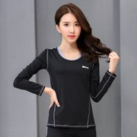 Wholesale Long Tank Top Xxl Women - Women'S Yoga Long T-Shirt Yoga Woman Sleeveless Yoga Tank Tops Tights Sports Tops Fitness Shirt Women Quick Dry Running Shirts 15017