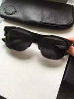 Wholesale black chrome wrap - Cool Men Chrome bubba low rider black sunglasses Luxury Fashion Designer Sunglasses Brand New with Case