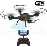 Wholesale Mode Keys - Beebeerun K200C Wifi RC Drone Quadcopter with Camera Live Video 2.4GHz 6-Gyro Headless Mode Altitude Hold One-Key Function