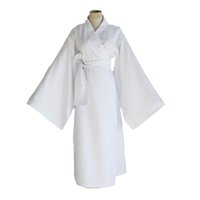 Wholesale Traditional Dress Cosplay - Japanese Anime Noragami Cosplay costume Yukine Costume for Adults white Japanese Traditional Dress + Scarf per set