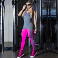 Wholesale Women Tight Jumpsuit - Rose Red Comprehension Yoga Jumpsuits Sexy Push Up Fitness Gym Leggings Tights Oversize Elastic High Waist Sports Bodysuit Women