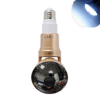 Wholesale Wireless Hidden Camera Security Systems - IB-185WM Home Security System 960P light Bulb hidden Camera in bedroom wireless hidden camera in hotel with p2P Motion Detection AT