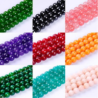 Wholesale Jade Faceted Beads 12mm - 1pack lot 12mm High quality multicolor round multi-faceted loose beads jade natural stone beads for DIY jewelry making