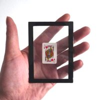 Wholesale Magic Tricks Card Frame - Wholesale- Card Changing Frame - trick,Magic tricks,card,close up,gimmick,Illusion,comedy, classic toys