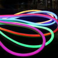 Wholesale Led Soft Neon - flexible neon lightings soft tube led fexible strip light led neon flex light strip ed fexible strip light 300leds soft led tape