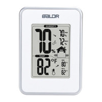 Wholesale Baldr New Electronic Thermometer Hygrometer Station with Current Humidity and Temperature Indicator Digital Display