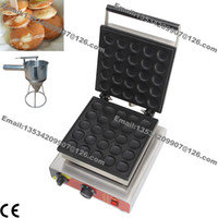110V or 220v dutch pancakes - Commercial Nonstick v v Electric Poffertje Mini Dutch Pancakes Machine Maker Baker w Batter Dispenser