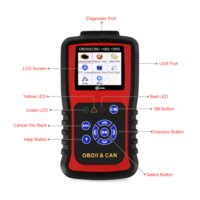 KC501 OBD Auto Diagnostic Tool + ABS Antiblockiersystem + Airbag SRS Crash Daten Reset Tool 3 in 1 OBD2 Automotive Scanner KC501
