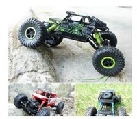 Wholesale Scale 4wd Rc Trucks - HB P1803 2.4GHz 1:18 Scale RC Rock Crawler 4WD Off-road Race Truck Toy