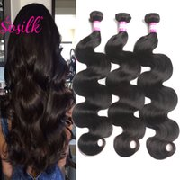 UNPROCESSED Virgin Brazilian Hair Hair Body Wave Mink Brazilian Hair Weaves 3Pcs Indian Malaysian Peruvian Hair Extensions Bodywave Weft