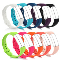 Wholesale choice metals - Newest Adjustable Replacement Bands for Fitbit Alta, Small, 10 Colors for Choice, with Metal Clasp and Ultrathin Fastener