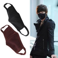 Wholesale anti dust cotton face mask - 1PC Unisex Men Women Cool Anti-Dust Cotton Mouth Face Mask Protect You From Dust, ash Anti Dust Protective Washable