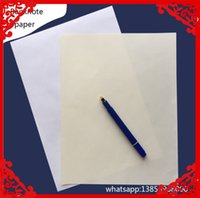 Wholesale Pic Paper - 100 pic A4 size 100% no srarch no acid printinng paper waterproof with red and blue fber white color waterproof paper