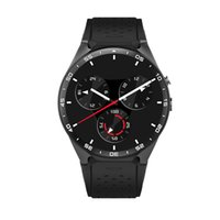 KW88 telefono Smart Watch Android Bluetooth Wifi Supporto Google Play GPS mappa 1.39 pollici Schermo Smartwatch Clock Clock Rate Monitor Smartband Red