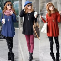 Wholesale Wholesale Wool Knitted Jumpers - Wholesale-New Fashion 2016 Women Sweater blusas Winter Thick Sweater Dress-Style Pullovers Jumper Spring Knit Tops Brand Vestidos