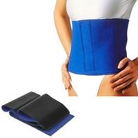 Wholesale Leg Fat Burner - Wholesale- 1pc Slimming Exercise Waist Sweat Belt Wrap Fat Burner Body Leg Neoprene Cellulite HOT
