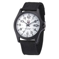 Wholesale xinew watches for sale - XINEW Outdoor Mens Military Watches Top Brand Canvas Sports Wrist Watch Men Luxury Large Dial Quartz Watch Relogio Masculino Z