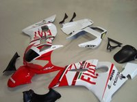 New ABS moto Kits de carénage 100% Fitment pour YAMAHA YZF-R6 98-02 YZF600 1998 1999 2000 2001 2002 carrosserie set blanc rouge FIAT