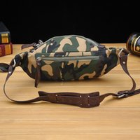 Wholesale Waterproof Cross Body Outdoor Bag - new vintage Waist Pack Bag Multi function Camouflage Tactical Military Fanny Pack Waterproof Hip Belt Bag Pouch Hiking Climbing Outdoor