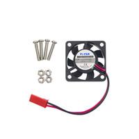 himbeer-pi-kühler großhandel-Raspberry Pi 3 CPU-Lüfter Lüfter für kundenspezifische Acryl-ABS-Gehäuse-Unterstützung Raspbery Pi 2 für Orange Pi