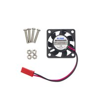 малиновый pi кулер оптовых-Wholesale- Raspberry Pi 3 CPU Fan Cooling Fan for Customized Acrylic ABS Case Support Raspbery Pi 2 For Orange Pi