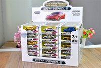 diecast oyuncak arabalar toptan satış-Diecast Otomobil Model Araç Yüksek Kalite Bebek Oyuncak Arabalar Diecast Araç Modeli Yılbaşı Hediyeleri