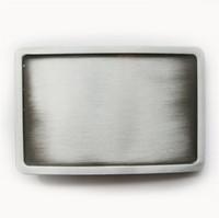 ingrosso fibbia in bianco-Fibbia della cintura personalizzata fibbia della cintura fibbia della cintura in bianco con fibbia in argento antico nuovo classico BUCKLE-BL004AS Nuovo trasporto libero