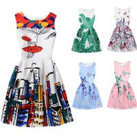 Wholesale Dress 77 - Baby Kids children Clothing 2017 Family Matching Outfits family butterfly print mother and daughter matching dresses girls dress clothes #77