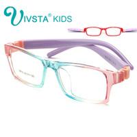 Wholesale Unbreakable Eyeglasses - IVSTA 8818 Unbreakable Optical Glasses frame Kids Eyewear Boys eyeglass frames TR optical eyeglasses prescription No Screw